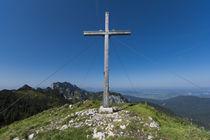 Hintererkirchstein Gipfelkreutz by Rolf Meier