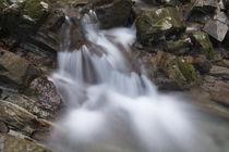 Stalllauer Bach kleiner Wasserfall by Rolf Meier