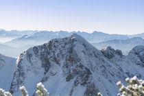 Rotwand Winter von Rolf Meier
