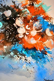 abstract cosmic landscape by pol ledent