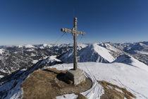 Fleischbang Gipfelkreuz von Rolf Meier