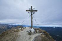 Große Klammspitze Gipfelkreutz von Rolf Meier