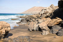 Beach on Fuerteventura, Spain by Susi Stark