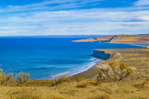 Landscape View from Punta del Marquez Viewpoint, Chubut, Argentina by Daniel Ferreira Leites Ciccarino