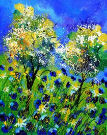 blue poppies 455150 by pol ledent