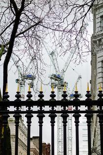 Bautätigkeit in London von Hartmut Binder