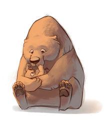 Mama Bear von Anneliese Mak
