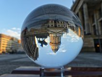 Blick auf den Deutschen Dom am Gendarmenmarkt von schroeer-design