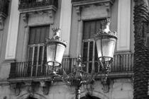 Street Light  Plaça Reial in Barcelona by stephiii
