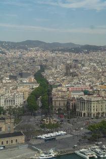 The Ramblas street in Barcelona by stephiii