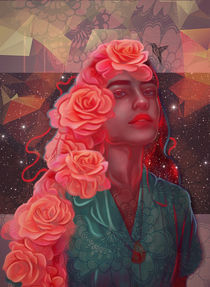 'Flower spell' von Damir Martic