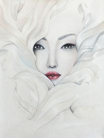 White flower by Uliana Ermolenko