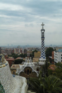 Park Guell in Barcelona, Spain by stephiii