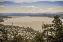 Blick auf Sipplingen und den Überlinger See by Christine Horn