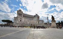 Monumento a Vittorio Emanuele II Rom Schreibmaschine by schumacherfilm