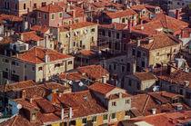 Venice Rooftops by David Halperin