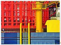 Im Hafen von Wilhelmshaven by Sandra Vollmann