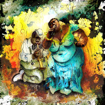 Blues Madness by Miki de Goodaboom