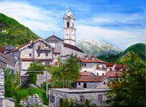Livo, Bergdörfchen oberhalb Comersee (Italien) by Elisabeth Maier