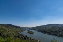 Blauer Himmel über dem Mittelrheintal by Ronald Nickel