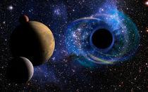 Deep Black Hole, Like an Eye in the Sky von maxal-tamor