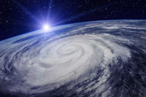 Huge Cyclone Due to the Global Warming von maxal-tamor
