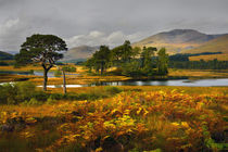 Grey skies over Loch Tulla by chris-drabble