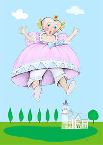 Prinzessin Himmelblau hat einen Traum von Kiki de Kock