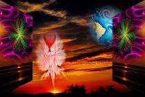 Himmlische Erscheinung 7 von Walter Zettl