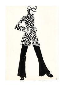 Mode der 60er  von Kiki de Kock