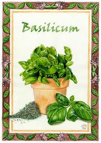 Basilicum (Basil) von Colette van der Wal