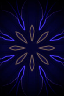Luminous Flower N.1 by oliverp-art