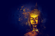 Golden Buddha Painting N.1 by oliverp-art