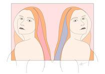 Silent Eve Miroir Pink von Iri Kirova