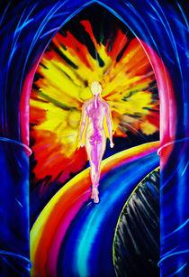 Licht und Energie ist Magie - Tanz auf dem Regenbogen by Walter Zettl