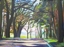 Straße durch den Wald by Renée König
