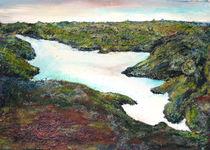 Bergsee in Island by Renée König