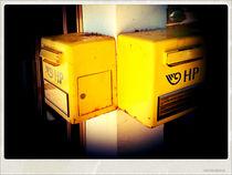 Yellow boxes by Gordan Bakovic