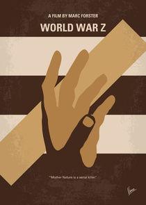 No783 My World War Z minimal movie poster by chungkong