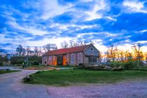 Whitlingham Visitor Centre at Sunset by Vincent J. Newman