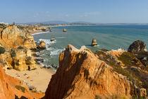Strand an der Algarve, Portugal by globusbummler