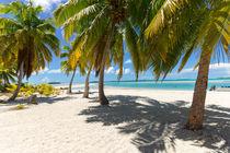 One Foot Island, Aitutaki, Cook Islands, Südsee by globusbummler