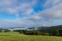 Die Nebel vermählen sich mit den Wolken by Ronald Nickel
