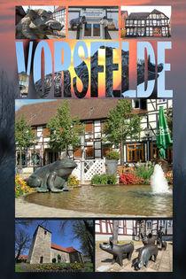 Vorsfelde Collage von Jens L. Heinrich