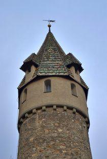 Grüner Turm in Ravensburg by kattobello