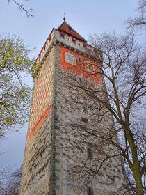 Gemalter Turm in Ravensburg 1 von kattobello