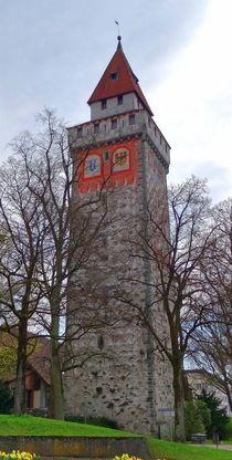 Gemalter Turm in Ravensburg 2 by kattobello