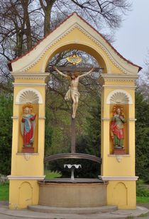Kreuzbrunnen in Ravensburg by kattobello