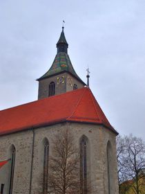 Kirche Sankt Jodok by kattobello
