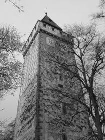 Nostalgie Gemalter Turm von kattobello